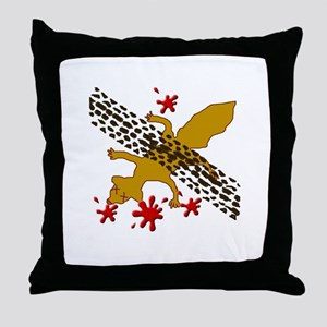 earl the dead squirrel Throw Pillow