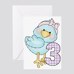 T3 Greeting Card