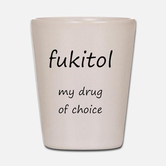 fukitol 1 Shot Glass
