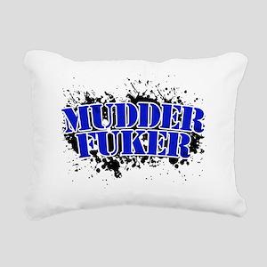 Mudder Fuker - Redneck M Rectangular Canvas Pillow