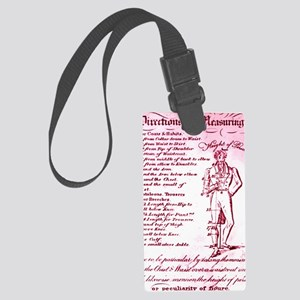 Made to Measure Sydney 1835 Large Luggage Tag
