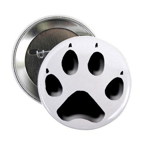 "Wolf Track 2.25"" Button (10 pack)"
