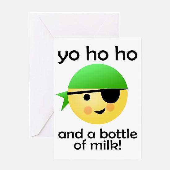 yo ho ho Greeting Card