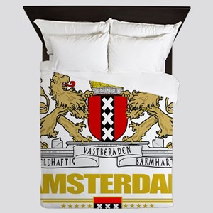 Amsterdam COA (Flag 10) Queen Duvet
