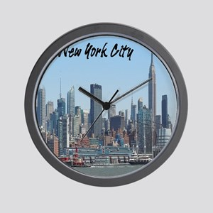 New York City Tile Coaster Wall Clock