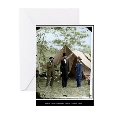 abe 16x20_print Greeting Card