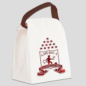 americadecali Canvas Lunch Bag