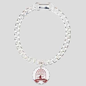 americadecali Charm Bracelet, One Charm