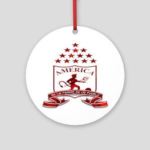 americadecali Round Ornament