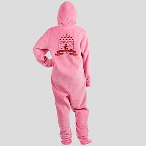 americadecali Footed Pajamas