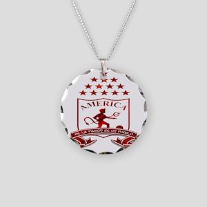 americadecali Necklace Circle Charm