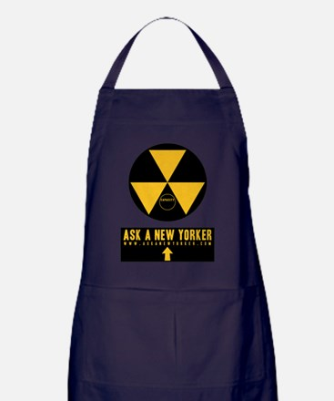 Ask A New Yorker - Fallout Shelter Apron (dark)