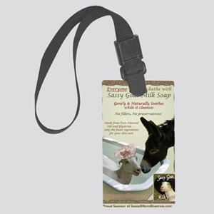 Bathe with Spatial Large Luggage Tag