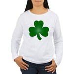 Shamrock ver5 Women's Long Sleeve T-Shirt