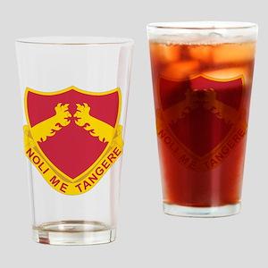 321 Field Artillery Drinking Glass