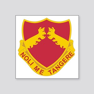 "321 Field Artillery Square Sticker 3"" x 3"""