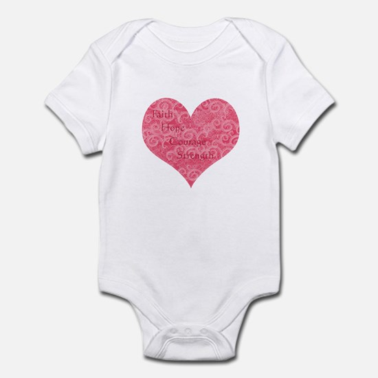 HEART DEFECT AWARENESS Infant Bodysuit