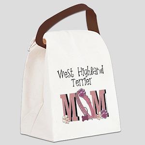 WestHighlandMOM Canvas Lunch Bag