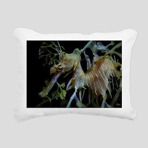 Leafycloseup1 Rectangular Canvas Pillow