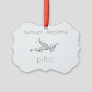 FutureAirplanePilot Picture Ornament
