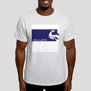 Mens Light Muscle T-Shirt (blue)