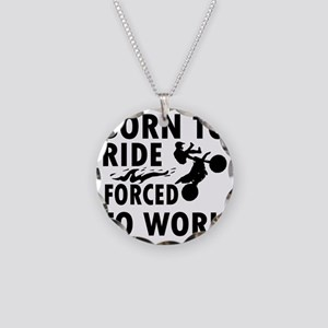 ride-bike Necklace Circle Charm