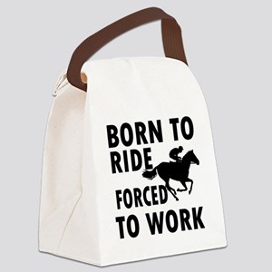 ride-horse Canvas Lunch Bag