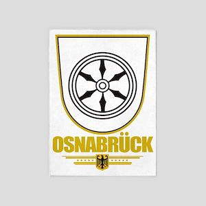 Osnabruck COA 5'x7'Area Rug