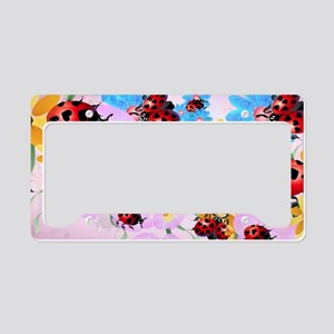 Yard Sigh-Lucky Love-Ladybug License Plate Holder