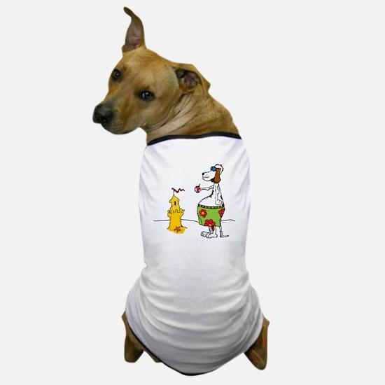 beach houseWHITE 1_edited-9 Dog T-Shirt