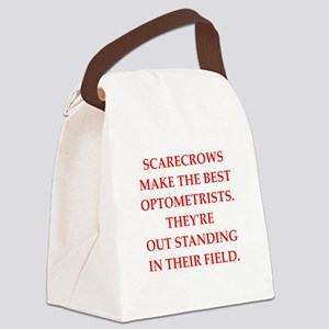 optometrist Canvas Lunch Bag