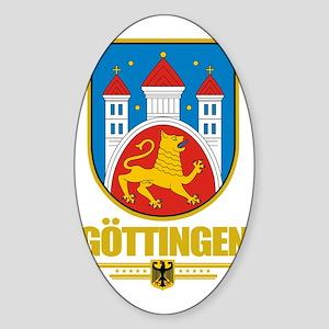 Gottingen COA Sticker (Oval)
