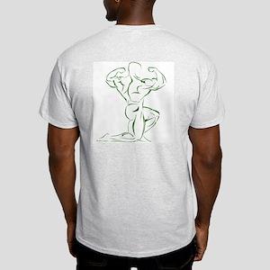Mens Ash Grey T-Shirt (hunter)