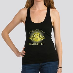 I Wear Yellow for my Daughter ( Racerback Tank Top