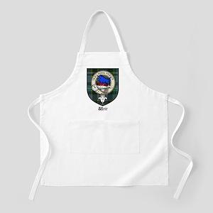 Weir Clan Crest Tartan BBQ Apron