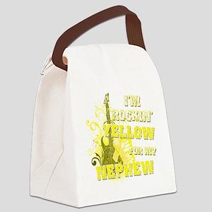 Im Rockin Yellow for my Nephew Canvas Lunch Bag