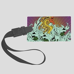 Sea Serpent Large Luggage Tag