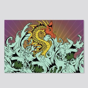 Sea Serpent Postcards (Package of 8)