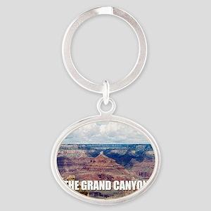 Grand Canyon Oval Keychain