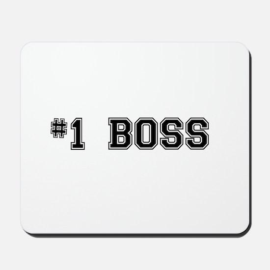 #1 Boss Mousepad