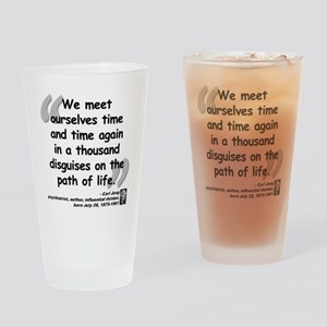 Jung Path of Life Drinking Glass