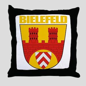 Bielefeld COA (gold) Throw Pillow