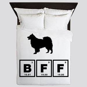 Finnish Lapphund Queen Duvet