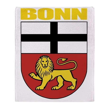 Bonn (gold) Throw Blanket