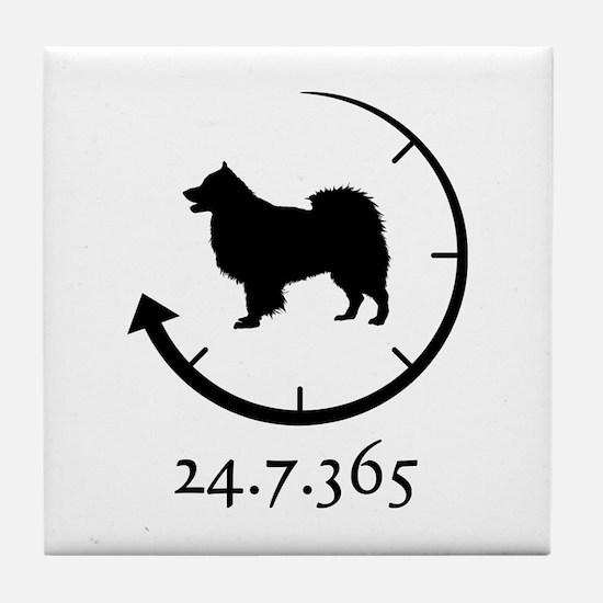 Finnish Lapphund Tile Coaster