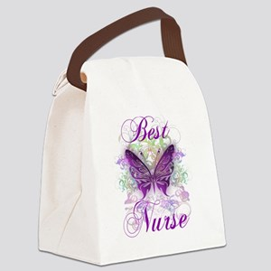 Best Nurse Canvas Lunch Bag