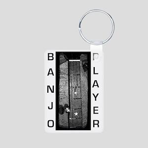 banjoplayer Aluminum Photo Keychain