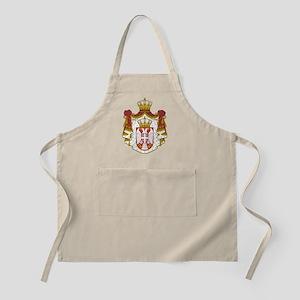 Serbian-COA-clock Apron