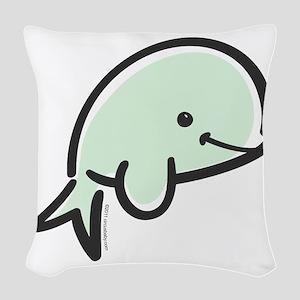 beluga Woven Throw Pillow