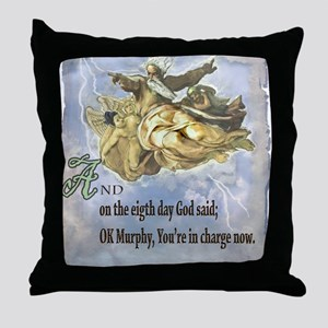 the 8th day of creation Throw Pillow